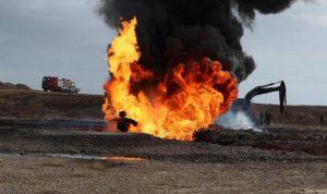 إخماد حريق في بئر نفط ثان شمالي العراق