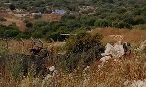 قوة إسرائيلية تخطت السياج التقني في ميس الجبل