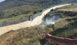 إسرائيل تطلق قنبلة دخانية باتجاه راع في شبعا