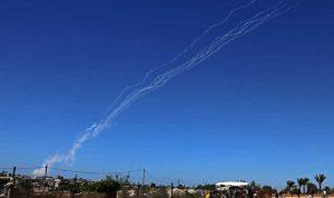 الجيش الإسرائيلي: 270 صاروخًا أطلق من غزة
