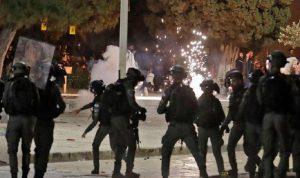 مواجهات عنيفة بالقدس… إصابة 205 فلسطينيين باعتداءات إسرائيلية