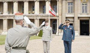قائد الجيش في كلية الدفاع الفرنسية