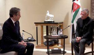العاهل الأردني يرحب بإعادة فتح واشنطن قنصليتها في القدس