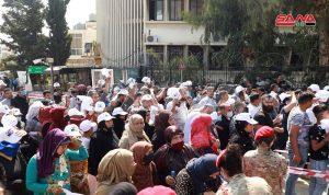 تمديد فترة الاقتراع للإنتخابات السورية في اليرزة