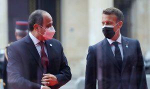 الإليزيه: فرنسا ومصر تعملان على هدنة في غزة