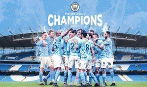 رسميًا.. تتويج مانشستر سيتي بطلًا للدوري الإنجليزي