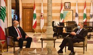 فهمي التقى السفير السوري… وهذا ما تم بحثه