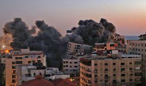 إسرائيل تستهدف أشهر معالم غزة بـ4 صواريخ