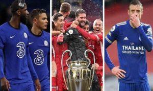 في إنجلترا.. صراع ثلاثي للتأهل لدوري أبطال أوروبا