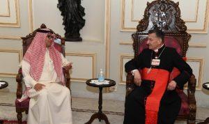 البخاري التقى الراعي… وتغريدة للسفير السعودي