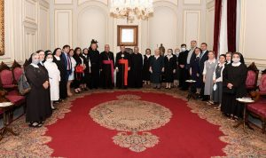 الراعي استقبل وفدًا من الأمانة العامة للمدارس الكاثوليكية