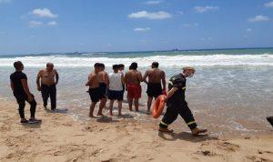 وفاة شخص غرقًا وإنقاذ آخرين في صيدا