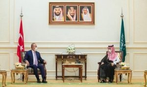 وزير الخارجية السعودي يستقبل نظيره التركي