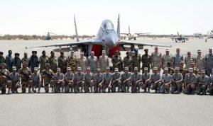 مناورة عسكرية مشتركة بين الجيش السوداني والمصري