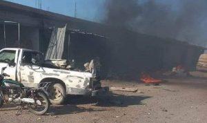 قتلى وجرحى من القوات التركية بانفجار في إدلب