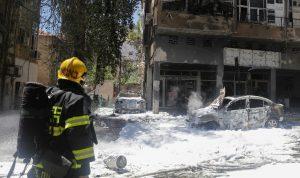 بالفيديو… صواريخ غزة تصيب تل أبيب وتُسقط قتلى!