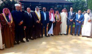 وفود متضامنة مع السعودية في دارة البخاري