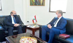 وهبه بحث في التحضيرات لزيارة نائبة وزير خارجية سلوفاكيا