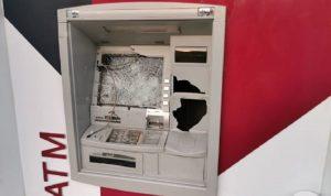 تكسير ATM في صيدا… وتوقيف شخصين