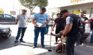 دوريات للأمن العام على محطات الوقود في بنت جبيل