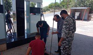 جولة للأمن العام على محطات الوقود جنوبا