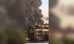 حريق مصفاة طهران مستمر… وانفجار خزان