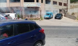 قنابل دخانية على مقهى في العديسة وسهل مرجعيون