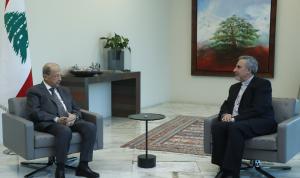 لقاء رؤساء الطوائف المسيحية مع البابا على طاولة عون