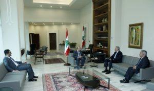 أرسلان التقى عون: نؤيّد كل حوار بين جميع الفئات اللبنانية