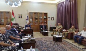 اجتماع لمجلس الأمن الفرعي في محافظة البقاع.. هذا ما تم بحثه