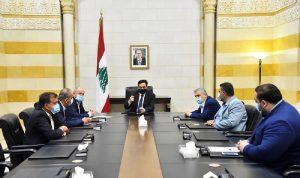الأسمر التقى دياب: لرفع الدعم مع إقرار البطاقة التمويلية