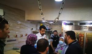 محاضر ضبط بحق ملاحم في سوق العطارين – طرابلس
