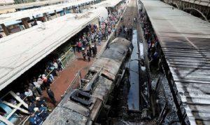 تفاصيل جديدة عن حادث قطار حلوان في مصر