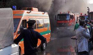 في مصر… مقتل 6 أطفال بحريق هائل