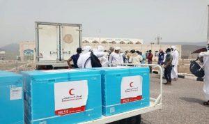 الإمارات ترسل 60 ألف جرعة من لقاح كورونا إلى اليمن