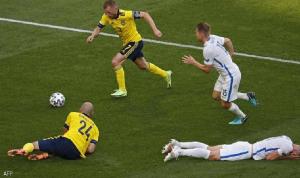 يورو 2020… السويد تقترب من دور الـ16