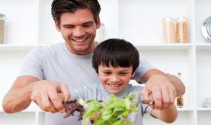 لِتشجيع الآباء على تناول هذه المأكولات
