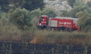 إخماد حريق كبير في خراج إبل السقي
