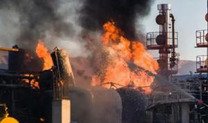إيران: لن يتم إخماد الحريق قبل 12 ساعة