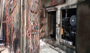 في صيدا… حرائق كبيرة في مولدات كهربائية!