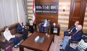التطورات السياسية بين الحريري والسفير الروسي