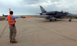هجوم صاروخي يستهدف قاعدة بلد الجوية شمال بغداد