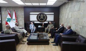 توقيع اتفاقية تعاون بين الدولة الألمانية والجيش اللبناني