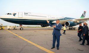 ليبيا تستعيد طائرة القذافي