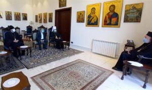 موفد بطريرك كييف زار عودة: قلقون على مصير لبنان