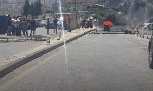 قطع طريق المصنع… احتجاجًا على منع التهريب!