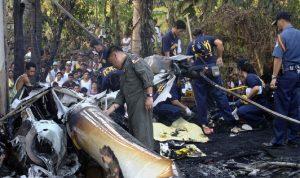 مقتل 6 أشخاص جراء تحطم مروحية فلبينية