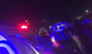 جريحة بحادث صدم على كورنيش صيدا البحري