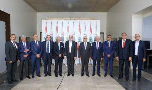 جعجع استقبل وفد مجلس العمل والاستثمار اللبناني بالسعودية