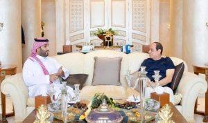 السيسي: توافق مع بن سلمان حول القضايا الإقليمية